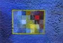 Beatrix Schaeren – Abstract Composition in Blue