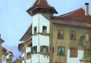 Werner Engel – View of Thun (Sold)