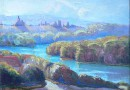 The Doubs River by G. W. Droz (SOLD)