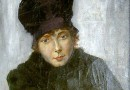 Hans Zuricher – Lady in a Black Hat (Sold)