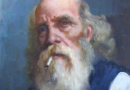 Portrait of a Bearded Man by Brazilian Artist Antonio Godoy (SOLD)