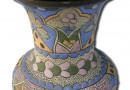 Thuner Majolika Blue Vase – circa 1900