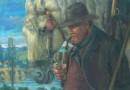 Robert Fuchs – Original Oil – Farmer and His Draft Horse