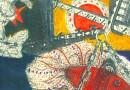 Michael Podulke –  Fish and Comet – Original Engraving