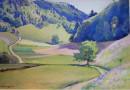 Summer Landscape Near Bern
