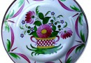 Village Antiques; Faience Plate from the Alsace Lorraine Region