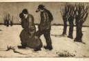 Winter Scene – Engraving (Sold)