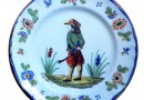 19th Century French Plates