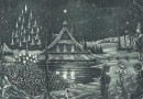Hans Eggimann – December – Original Engraving by Swiss Artist