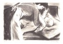 Georges Dessouslavy – Mother and Child – Original Lithograph