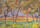 Fernand Riard – Post-Impressionist Spring Landscape (sold)