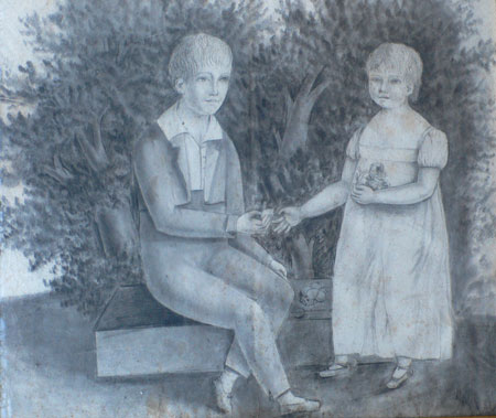 Primitive / Naive Sketch of Children / Anonymous