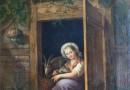 C. H. Scheidt –  The Little Shepherdess (Sold)