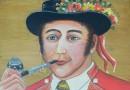 Portrait of an Appenzeller – Swiss Folk Art Painting