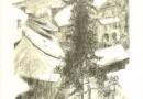 Marguerite Frey-Surbek -Winter Scene / Lithograph