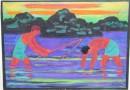 Erich Waske – German Expressionist – Fishermen (SOLD)