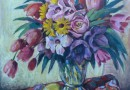 Eugen Henziross – Colorful Spring Bouquet (Sold)