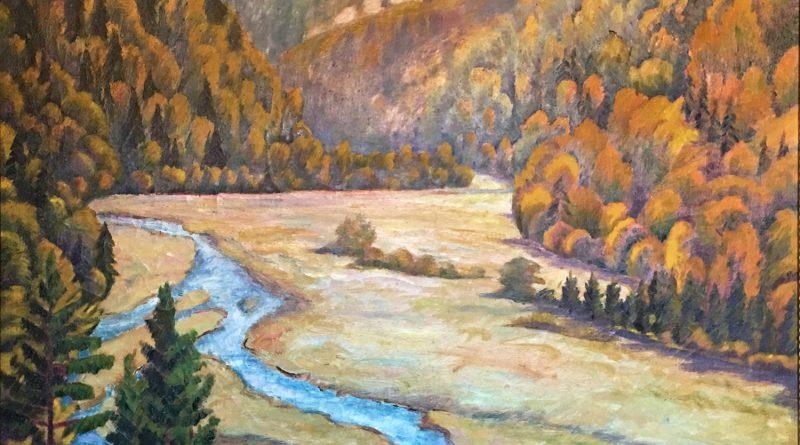 Adolf Mathys Autumn Landscape