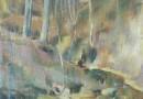 Eugen Hartung – Forest Landscape by Zurich Artist (Sold)