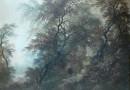 J. Selley – Wanderer in the Wilderness (Sold)