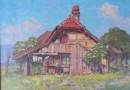 Ekkehard Kohlund – Farm in the Countryside, Original Oil
