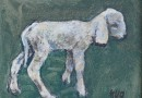 Fritz Hug – Little Lamb – Original Oil (Sold)