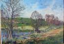 E. M. Meyer – Landscape with Pond (SOLD)