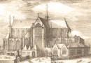 Amsterdam – De Nieuwe Kerk – Elegant 18th Century Antique Engraving