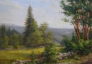 Sandoz-Zuberbuehler – Swiss Landscape Painting (Sold)