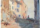 Anton Konrad Schmidt – Southern European Village (Sold)