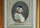 Antique Swiss Costume Engraving – A Girl from Uri