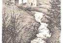 Eugen Georg Zeller – Mountain Stream – Original Signed Lithograph