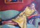 Joseph Armand Lachat (Gobras) – Lady in Yellow (Sold)