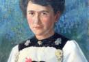 Eduard Schild – Portrait of a Woman from Brienz (Sold)