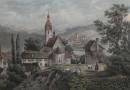 Kloster Schönenwerth bei Aarau – Antique Swiss Engraving