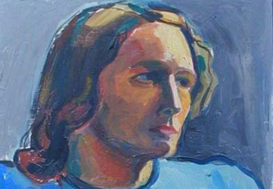 Joseph Armand Lachat – Gobras – Lady in Blue