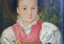 Swiss Folk Art Portraits – Buchegger Sisters (Sold)
