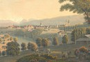 View of the Valley of Bern – Antique Print