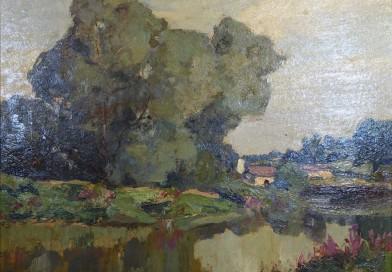Émile Chaumont – Landscape in Dordogne
