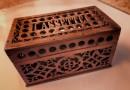 Wooden French Treasure Box – Cassette