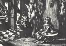 The Letter – Woodblock Print by Aldo Patocchi