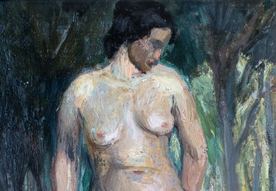 Expressionist Nude by David Arnold Burnand