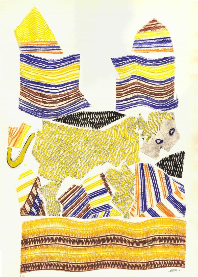 Louttre B - Pas de Gazelle Pour Le Lion