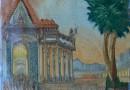 Heinrich Nüsslein – German Visionary Artist – Eussorien 100,000 Years Before Christ (Sold)