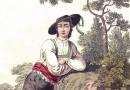 Handsome Austrian Peasant – Antique Engraving