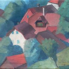 Arne Siegfried - Red Rooftops