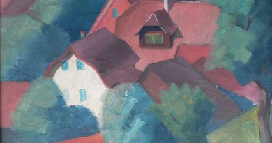 Arne Siegfried - Red Rooftops