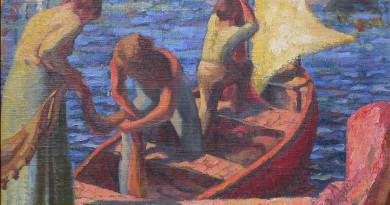 Fishing Boats - Seascape