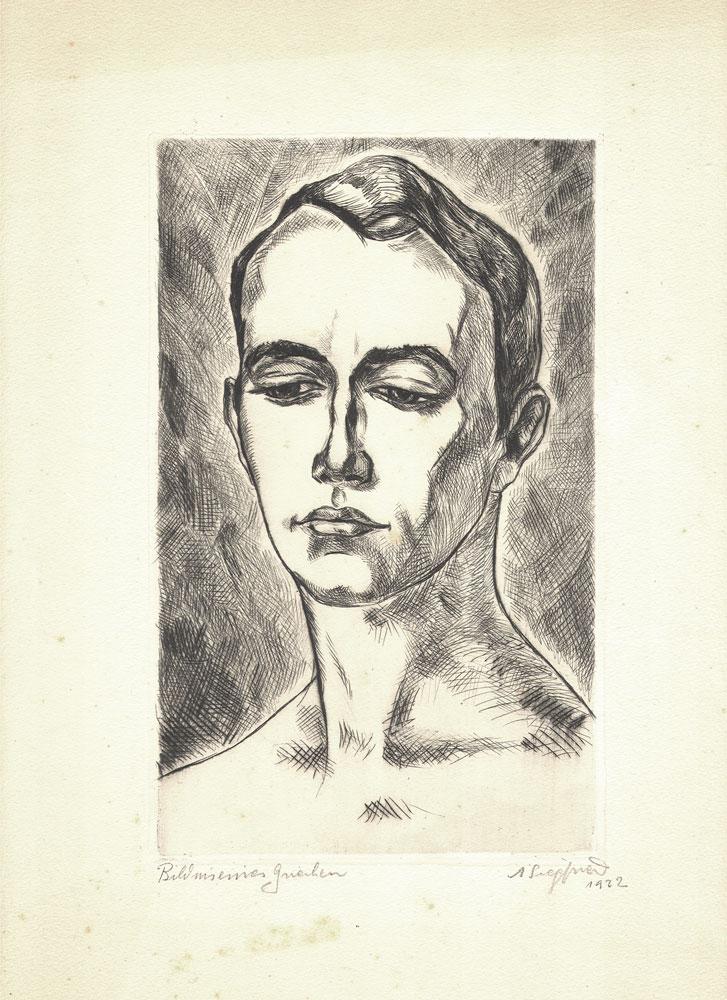 Arne Siegfried - Portrait of a Greek