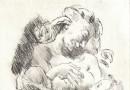 Alexander Leo Soldenhoff – Mother Nursing Her Baby